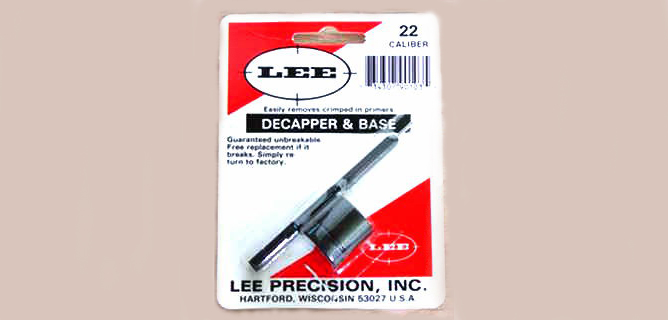 LEE - DECAPPER & BASE 22