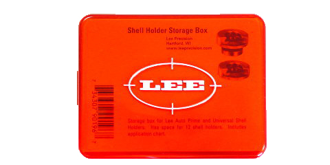 LEE - SHELLHOLDER SET BOX RED