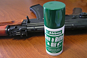 ABBEY SPRAY GUN RIFLE OIL 150ml
