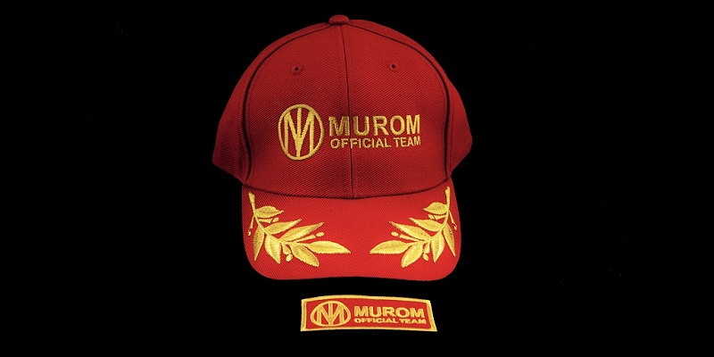 TEAM MUROM BASEBALL CAP E PATCH