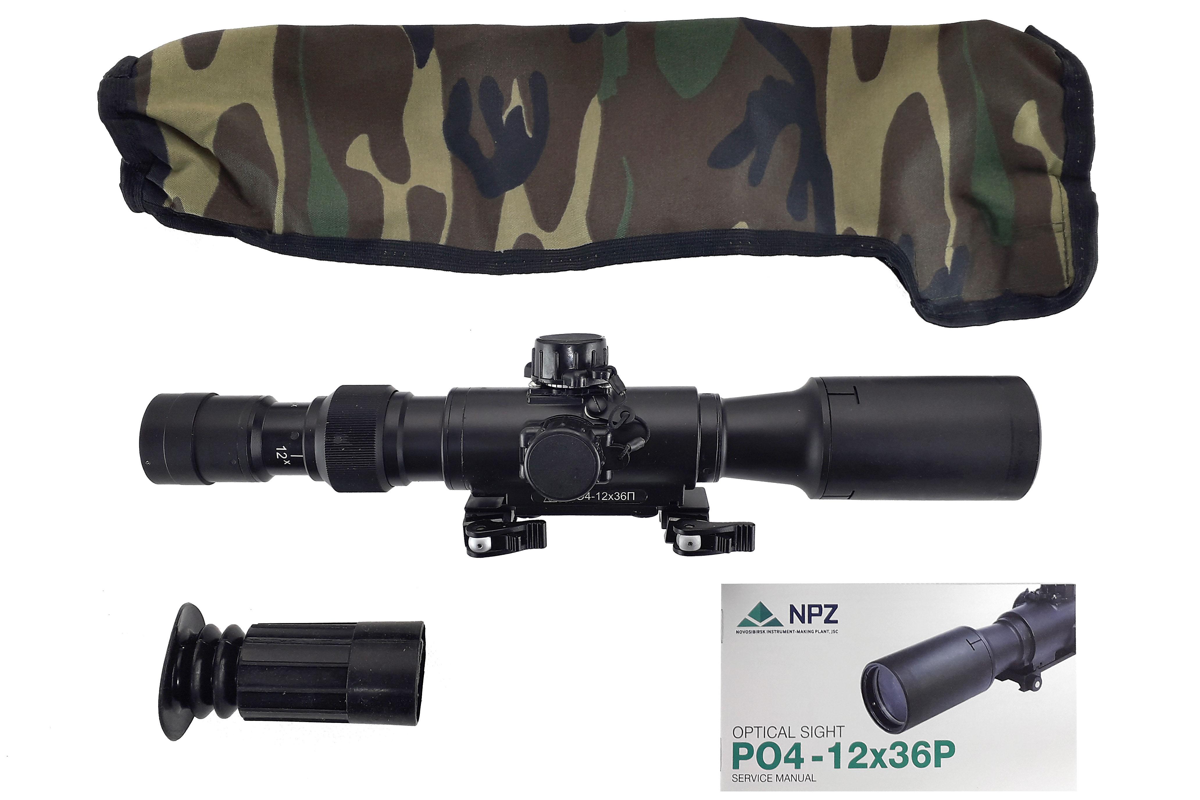 NPZ - PO 4-12X36 P