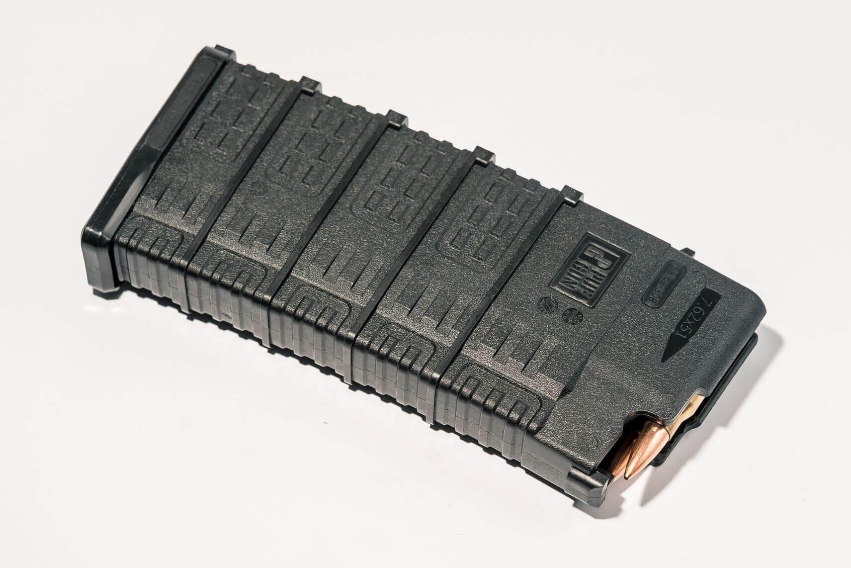 PUF GUN CARICATORE NERO AK/SAIGA CAL 308WIN 25/5 RND