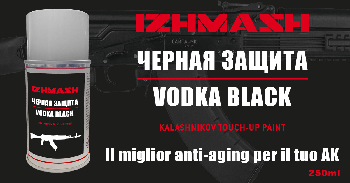 VODKA BLACK VERNICE SPRAY 250 ml
