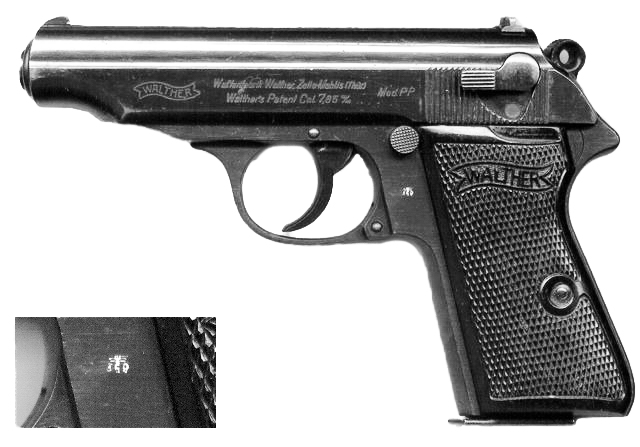 WALTHER PP WWII CON WAFFENAMT