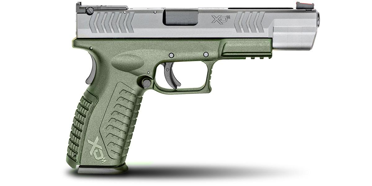 HS PISTOLA XDM-40 5.25 SPORT INOX FUSTO GREEN