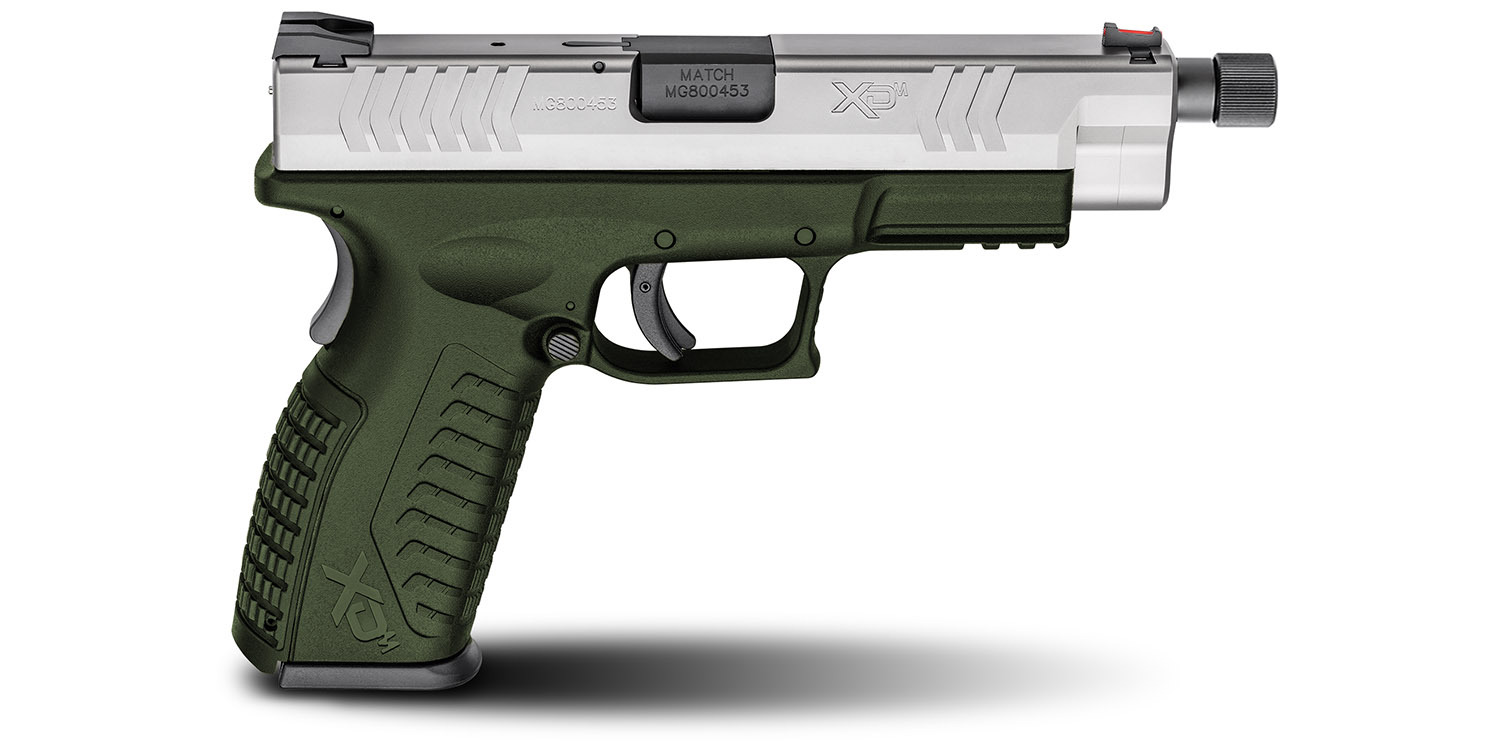 HS XDM-9 INOX SPECIAL OPS GREEN